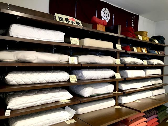 快眠枕・オーダーメイド枕で眠りの悩みを解決する店 京都八田屋
