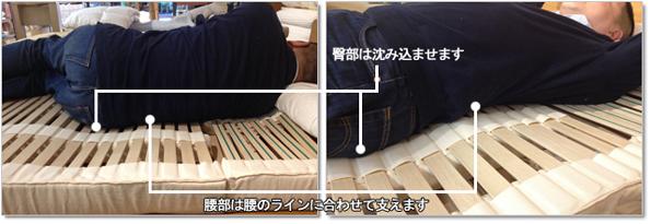 畳・床敷き用ナチュラルウッドスプリング オーストリア・リラックス社