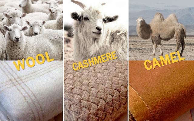 寝心地を第一に考えたウール・カシミヤ・キャメル毛布